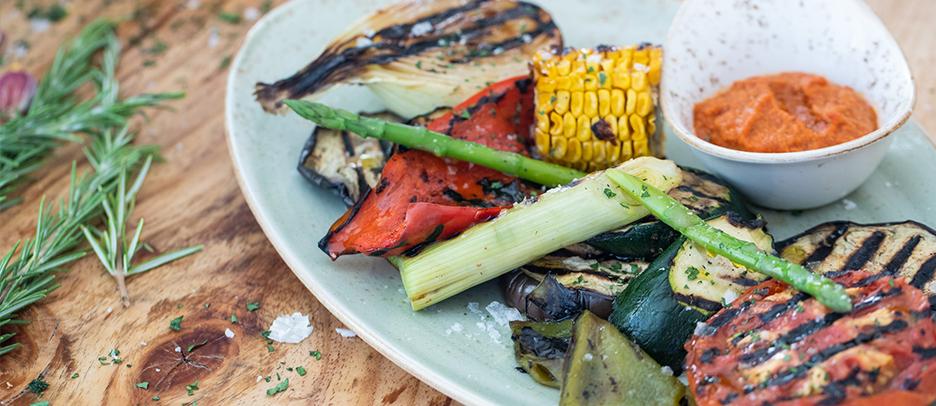 Es Mercat Ibiza Parrillada de verduras